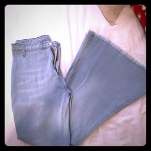 70's Flare Stretch Jeans Size 10 New!
